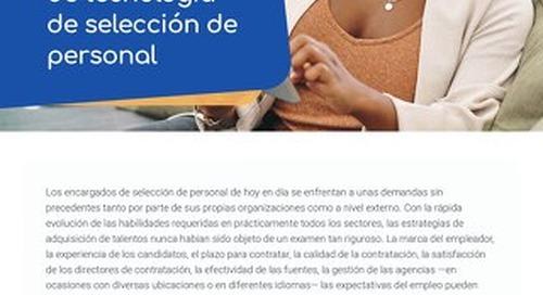 Checklist para compradores de tecnología de selección de personal