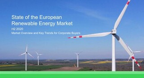 Download Report: State of the European Renewable Energy Market (H2 2020)