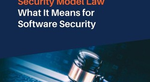 Insurance Data Security Model Law – What It Means for Software Security