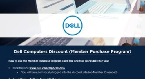 Associa Employee Dell Perks