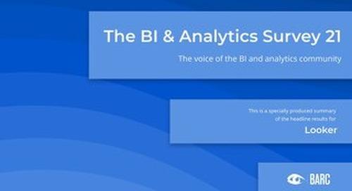 BARC: The BI & Analytics Survey 21 (English)