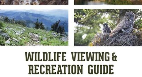 NE WA Wildife Viewing & Recreation Guide