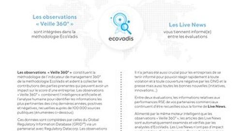 Observations « Veille 360° » & Live News