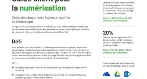 PaperCut Digitization en Français