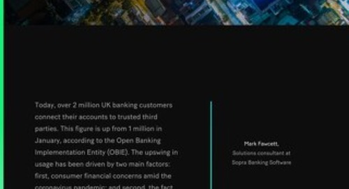 As the open banking movement begins to mature, financial organizations are finding creative ways to wield data to benefit end-users.