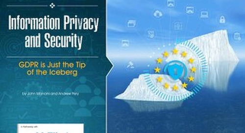 Information Privacy and Security - GDPR is Just the Tip of the Iceberg