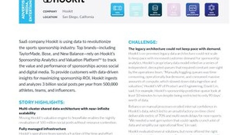 Hookit Revalues 500 Million Social Posts 30x Faster with Snowflake