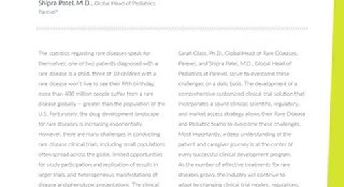Making rare disease drug development personal