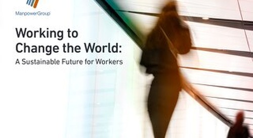 Working to Change the World: A Sustainable Future for Workers