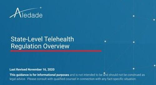State-Level Telehealth Regulations
