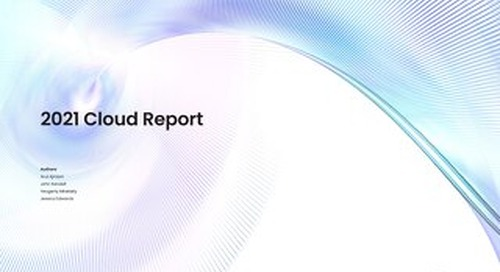 2021 Cloud Report | Cockroach Labs