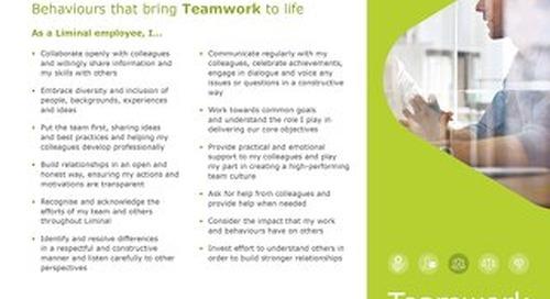 Teamwork Behaviors (EN)