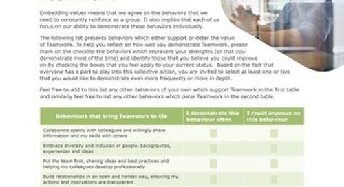 Liminal Teamwork Checklist (EN)