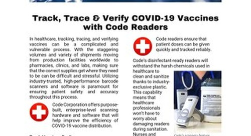 Track, Trace and Verify COVID-19 Vaccines with Code