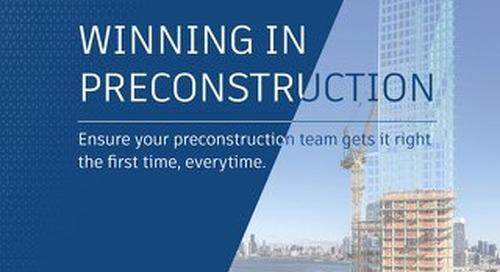 Winning in Preconstruction