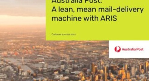 Australia Post meets high demand with better processes, thanks to ARIS