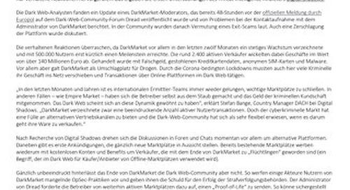 Ende von DarkMarket- So reagiert das Dark Web