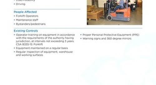 Job Aid - Forklifts