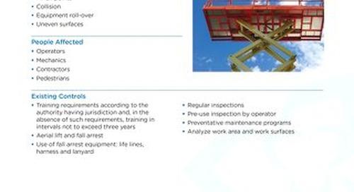 Job Aid - Aerial Work Platform (Scissor Lift)