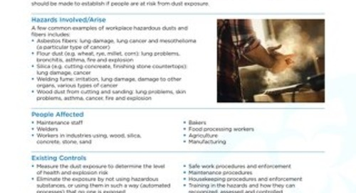 Job Aid - Airborne Dust and Particulates