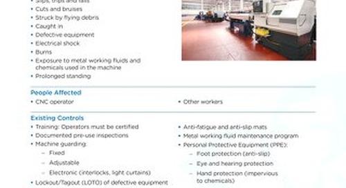 Job Aid - CNC Machines