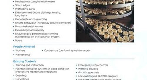 Job Aid - Conveyor Systems