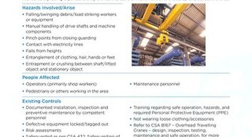 Job Aid - Cranes