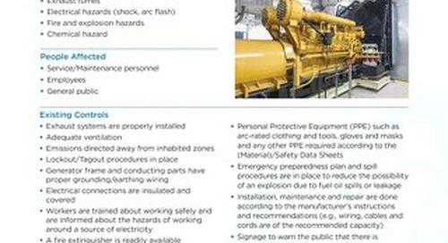 Job Aid - Diesel Generator