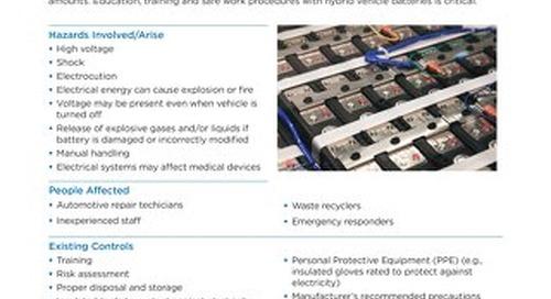 Job Aid - Hybrid Vehicle Batteries