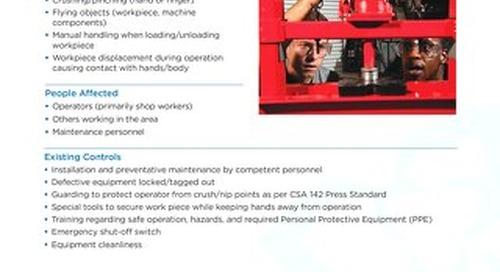 Job Aid - Hydraulic Press