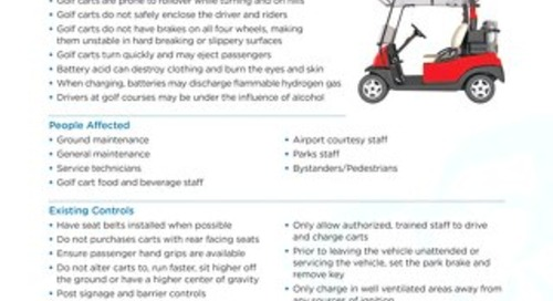 Job Aid - Golf Carts