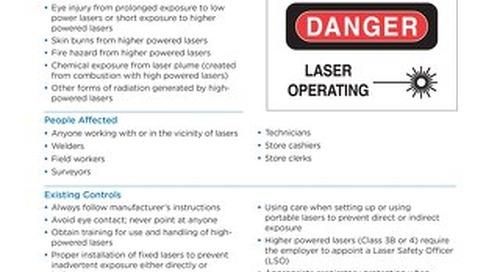 Job Aid - Lasers