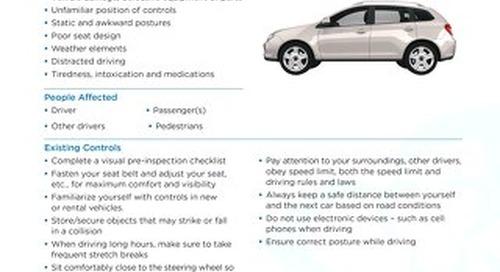 Job Aid - Motor Vehicles