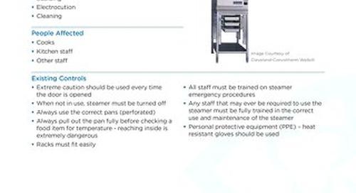 Job Aid - Steamer