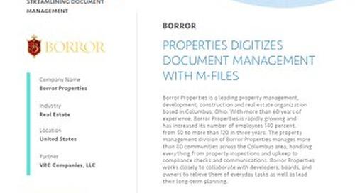 Borror Properties