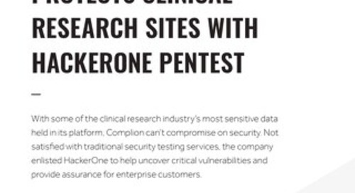 How Complion Protects Clinical Research Sites With HackerOne Pentest
