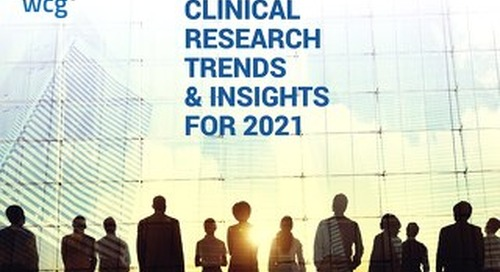 WCG Trends & Insights for 2021