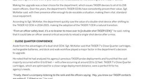 Rock Hill PD - TASER 7 Case Study