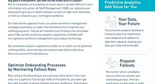 Transform Data Into Action with Stafftrack's Predictive Analytics