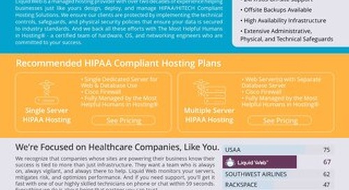 Protect Client ePHI With Liquid Web's HIPAA Compliant Hosting