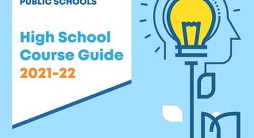 High School Course Guide 2021-22 BGPS