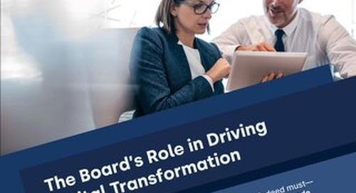 eBook: The Board's Role in Digital Transformation