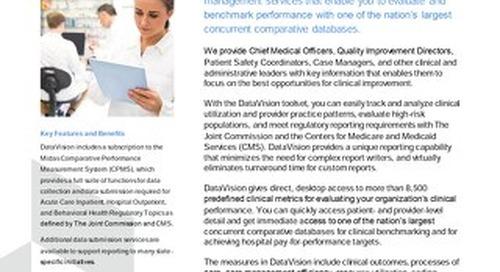 Midas Health Analytics Solutions: Midas DataVision™ – Comprehensive Data Management Services