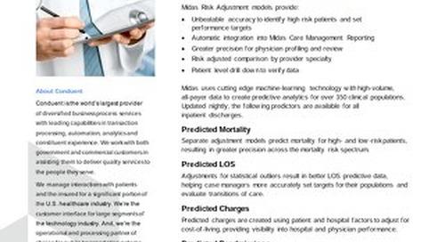 Midas Health Analytics Solutions: Raising the Bar in Hospital Risk Adjustment Methodology