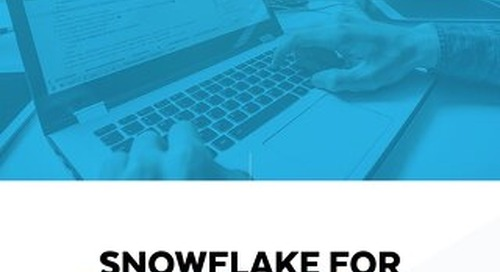 Snowflake For Data Engineering - Easily Ingest, Transform, And Deliver Data For Up-To-The-Moment Insight
