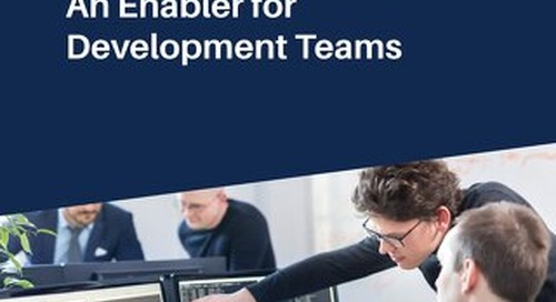 Software Security: An Enabler for Development Teams
