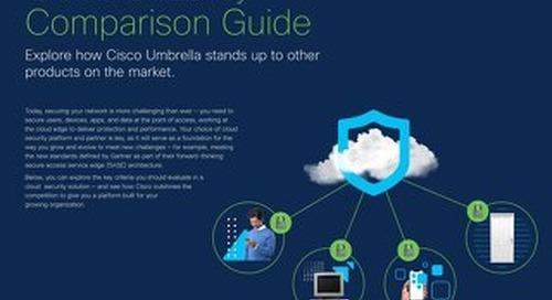 Cloud Security Comparison Guide