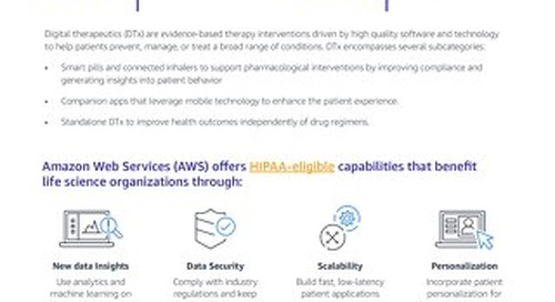 AWS Digital Therapeutics Reference Architecture