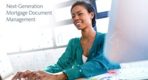 Next-Generation Mortgage Document Management