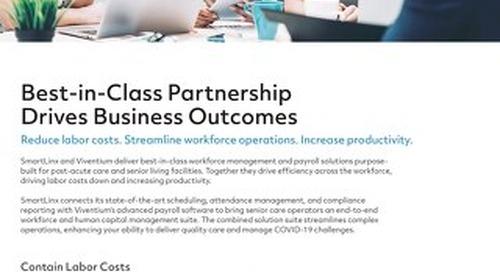 SmartLinx and Viventium Partnership Offering